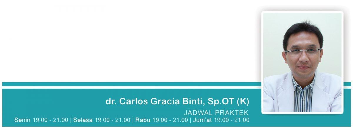 dr. CarlosGraciaBinti, Sp.OT (K)